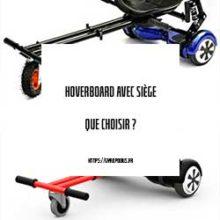 hoverboard avec siège