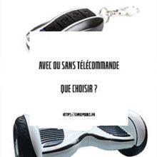 hoverboard avec télécommande