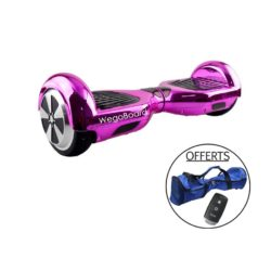 hoverboard rose chrome