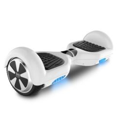 hoverboard led blanc