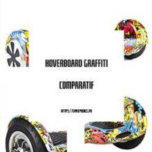hoverboard avec graffiti