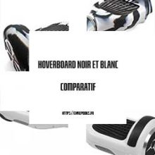 hoverboard noir et blanc