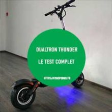 test dualtron thunder