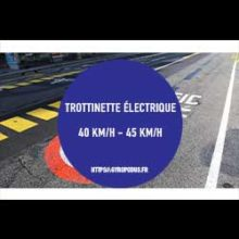 trottinette electrique 40 km h