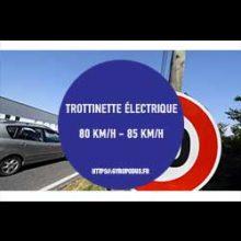 trottinette electrique 80 km h