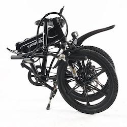 vélo électrique pliant weebike road plié
