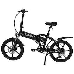 weebike road vélo électrique pliable autonome