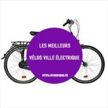 comparatif vélo ville électrique